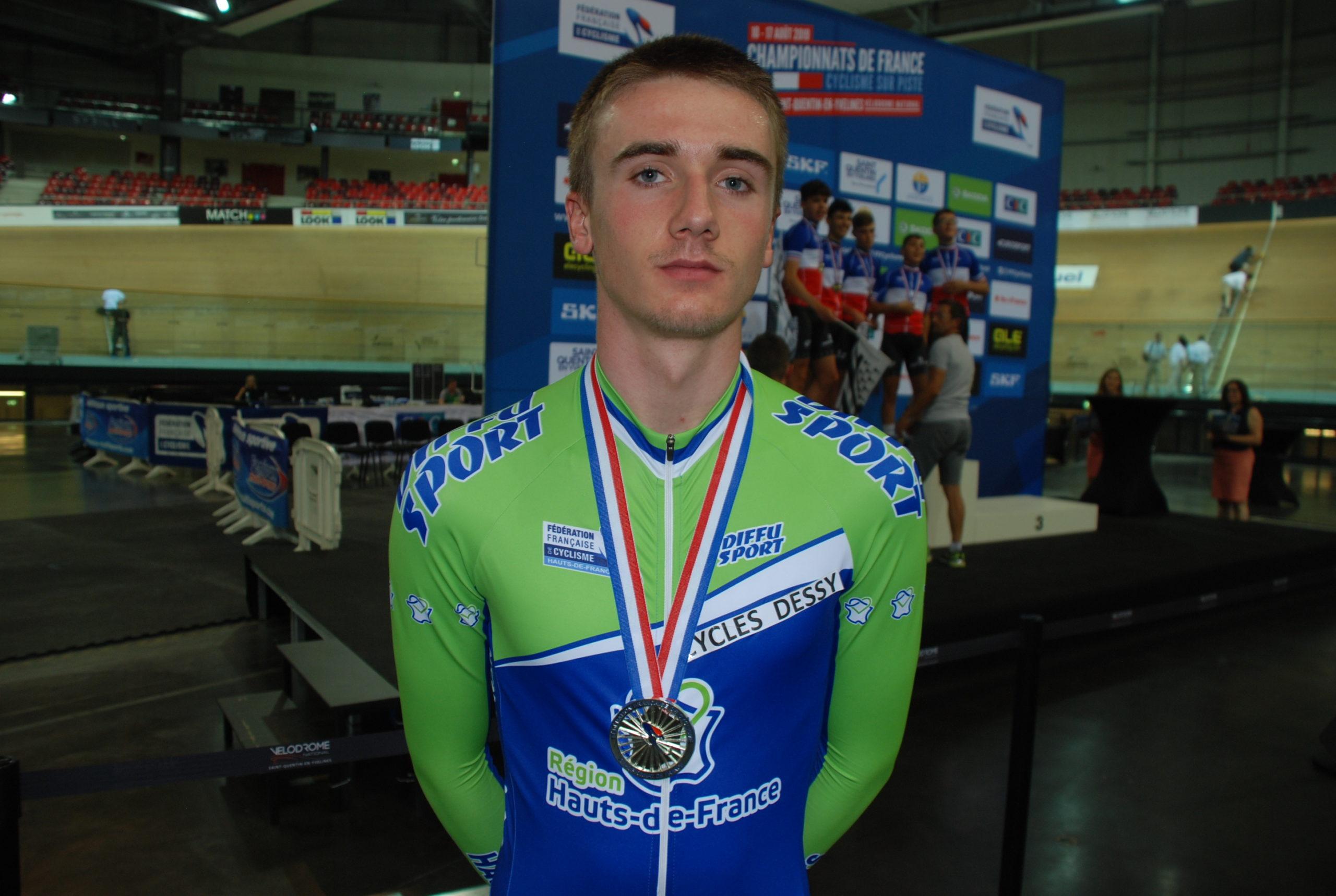 Médaille d'argent championnat de France Juniors